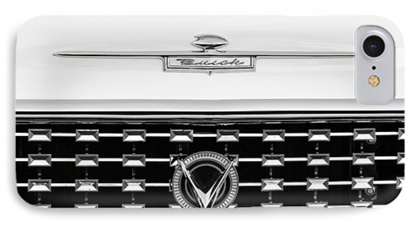 1959 Buick Lesabre Convertible Grille Emblems Phone Case by Jill Reger