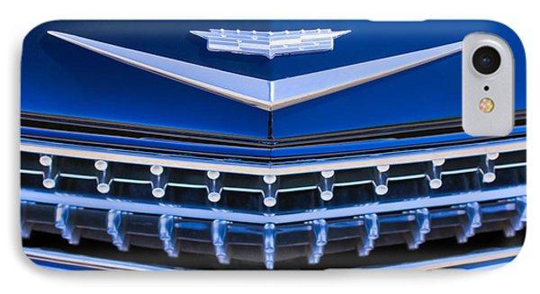 1959 Cadillac Eldorado Hood Ornament Phone Case by Jill Reger