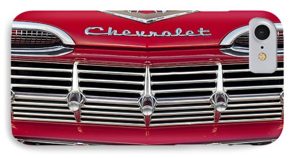 1959 Chevrolet Grille Ornament Phone Case by Jill Reger