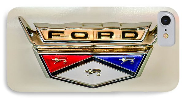 1959 Ford Ranchero Emblem -1095c IPhone Case by Jill Reger