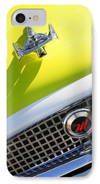 1959 Nash Metropolitan 1500 Convertible Hood Ornament - Grille Emblem Phone Case by Jill Reger