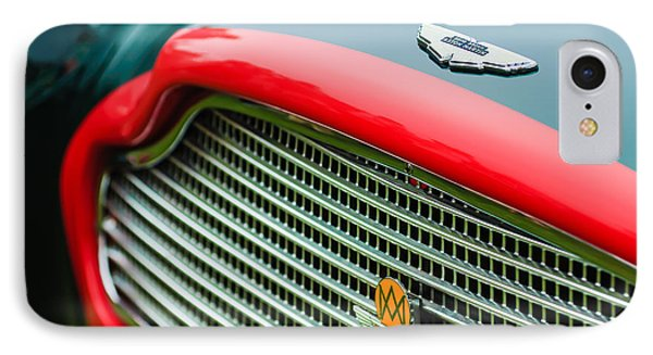 1960 Aston Martin Db4 Gt Coupe' Grille Emblem Phone Case by Jill Reger