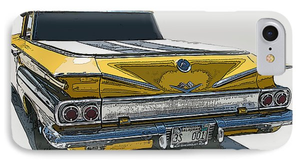 1960 Chevrolet El Camino IPhone Case by Samuel Sheats