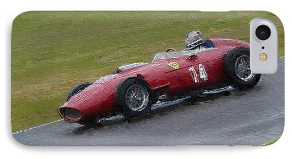 1960 Ferrari Dino Racing Car IPhone Case by John Colley