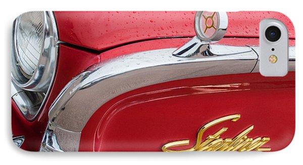 1960 Ford Galaxie Starliner Hood Ornament - Emblem Phone Case by Jill Reger