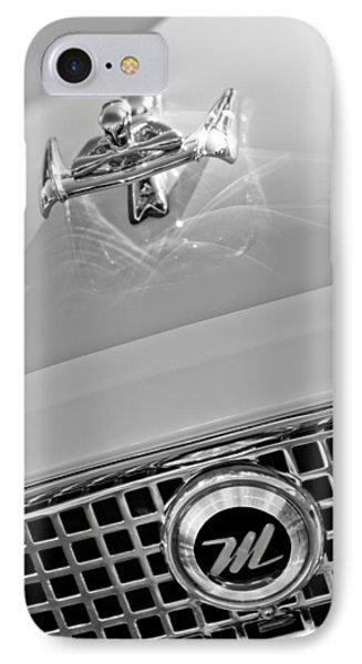 1960 Nash Metropolitan Hood Ornament Phone Case by Jill Reger