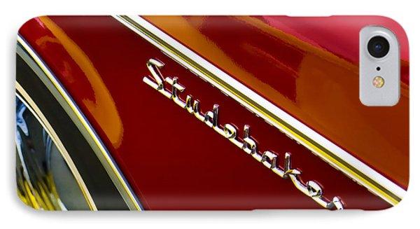 1960 Studebaker Hawk Phone Case by Carol Leigh