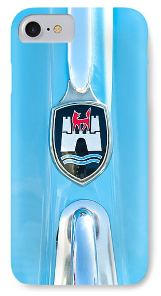 1960 Volkswagen Vw Hood Emblem 2 Phone Case by Jill Reger