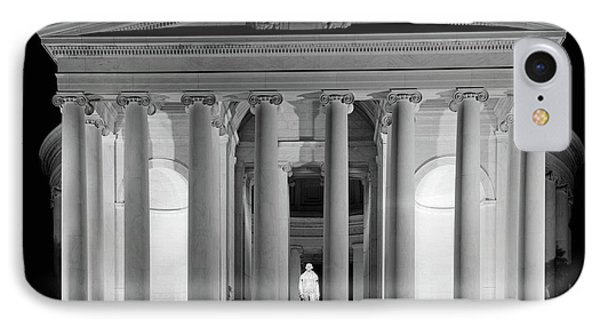 1960s Thomas Jefferson Memorial Lit IPhone 7 Case