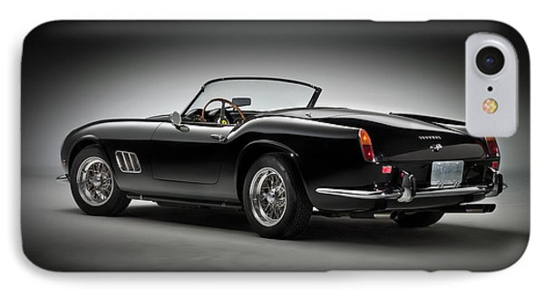 IPhone Case featuring the photograph 1961 Ferrari 250 Gt California Spyder by Gianfranco Weiss