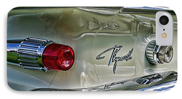 1961 Plymouth Fury IPhone Case by Paul Ward