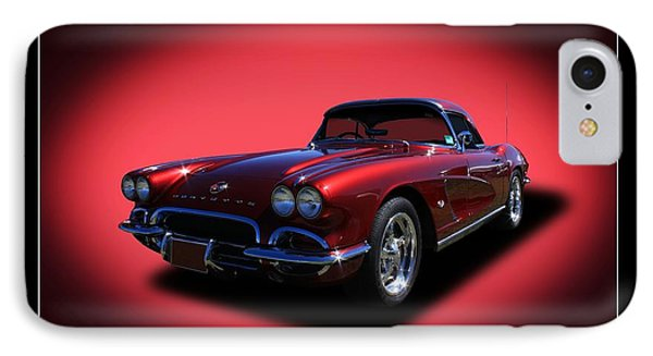 IPhone Case featuring the photograph 1962 Corvette by Keith Hawley