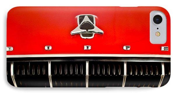 1962 Dodge Polara 500 Emblem Phone Case by Jill Reger