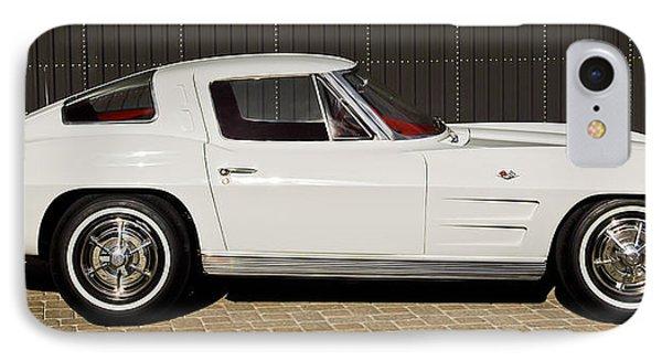 1963 Chevrolet Corvette Split Window -575c IPhone Case by Jill Reger