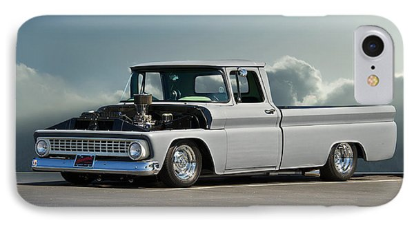 1963 Chevy 'low Rider' Pick-up Truck Phone Case by Dave Koontz