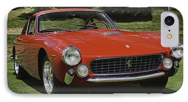 1963 Ferrari 250 Gt Lusso IPhone Case by Sebastian Musial