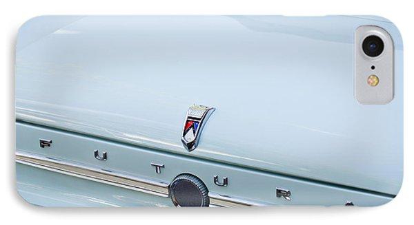1963 Ford Falcon Futura Convertible  Rear Emblem IPhone Case by Jill Reger