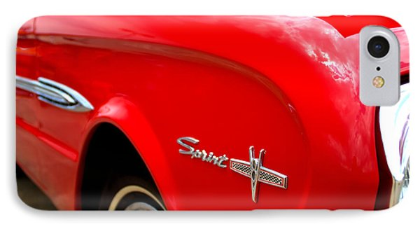 1963 Ford Falcon Sprint IPhone Case by Brian Harig
