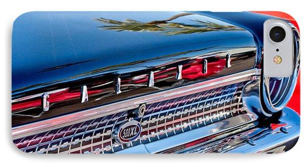 1963 Ford Galaxie 500xl Taillight Emblem Phone Case by Jill Reger