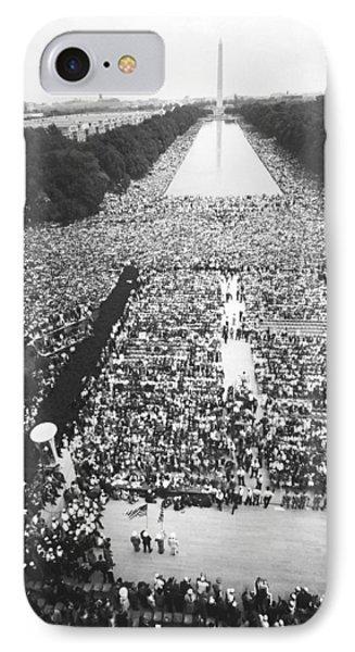 1963 March On Washington IPhone Case by Warren Leffler