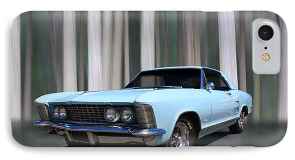1964 Buick Riviera IPhone Case by Keith Hawley