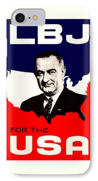 1964 Lbj For The Usa IPhone Case by Historic Image