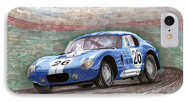 1964 Shelby Daytona Phone Case by Jack Pumphrey