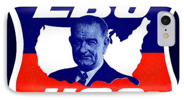 1964 Vote For Lyndon B. Johnson Phone Case by Historic Image