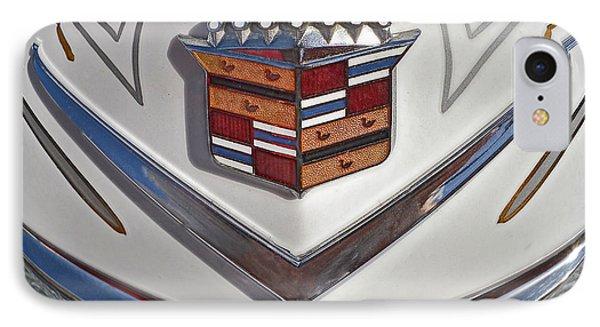 1965 Cadillac Hood Emblem Phone Case by Bill Owen