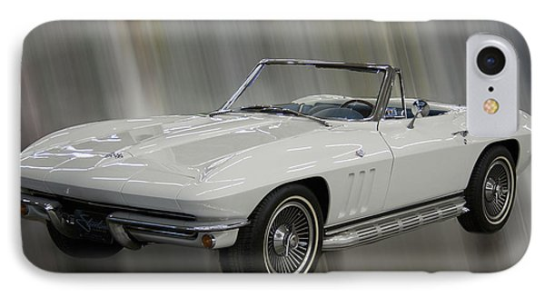 1965 Chevy Corvette IPhone Case by B Wayne Mullins