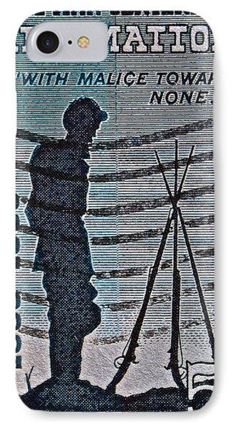 1965 Civil War Centennial Stamp IPhone Case