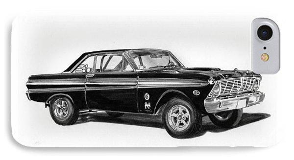 1965 Ford Falcon Street Rod Phone Case by Jack Pumphrey