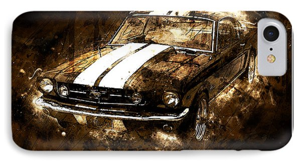 1965 Ford Shelby Mustang Gto-350 #5 IPhone Case