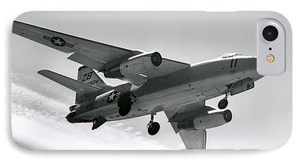 1965 Navy A3d Skywarrior IPhone Case by Historic Image