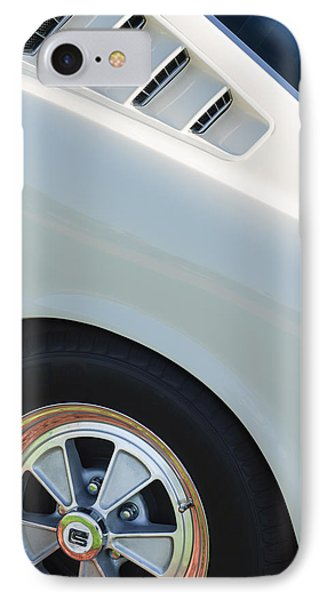 1965 Shelby Mustang Gt350 Wheel Emblem IPhone Case