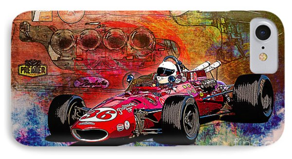 1966 9 Eagle Indy IPhone Case