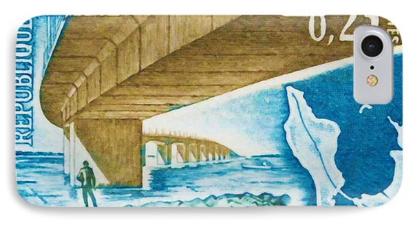 1966 Bridge Oleron IPhone Case by Lanjee Chee