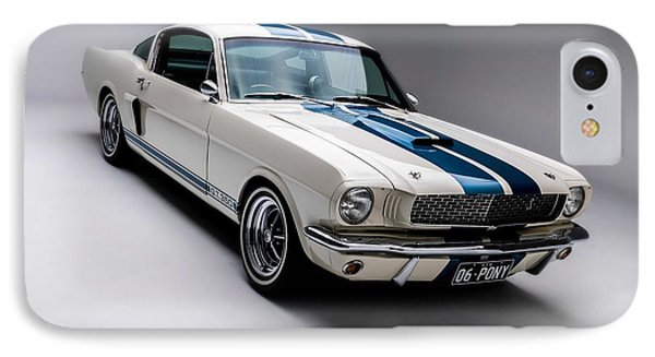 IPhone Case featuring the photograph 1966 Mustang Gt350 by Gianfranco Weiss