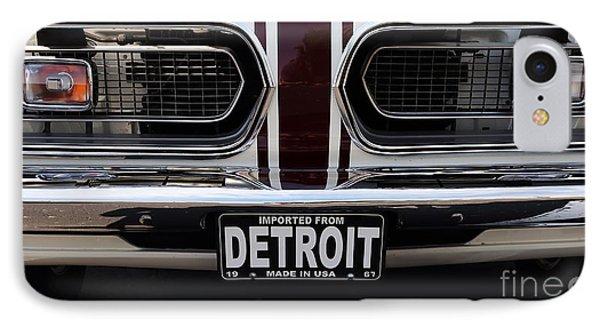 1967 Barracuda IPhone Case by Dennis Hedberg
