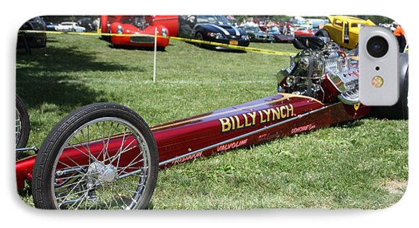 1967 Billy Lynch's Top Fuel Dragster Phone Case by John Telfer