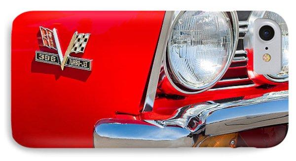 1967 Chevrolet Chevelle Ss Emblem Phone Case by Jill Reger