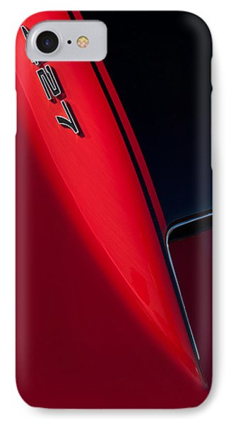 1967 Chevrolet Corvette 427 Emblem  Phone Case by Jill Reger
