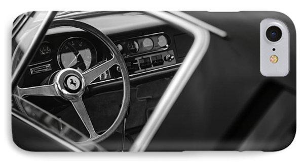 1967 Ferrari 275 Gtb-4 Berlinetta Steering Wheel Phone Case by Jill Reger