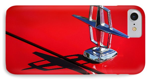 1967 Lincoln Continental Hood Ornament -1204c IPhone Case by Jill Reger