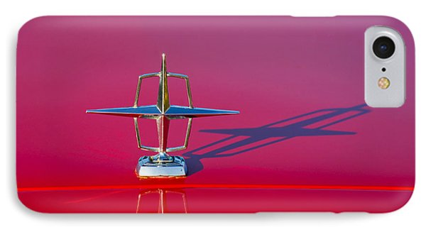 1967 Lincoln Continental Hood Ornament -158c IPhone Case by Jill Reger