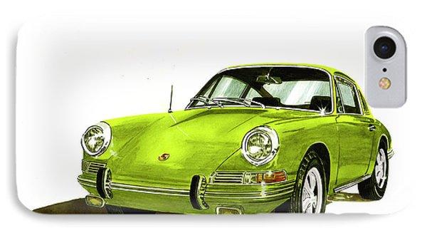 Porsche 911 Sportscar IPhone Case by Jack Pumphrey