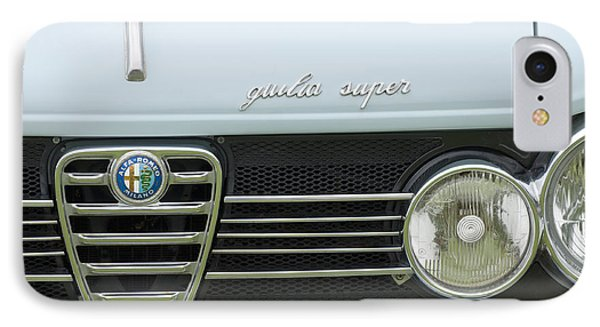 1968 Alfa Romeo Giulia Super Grille Phone Case by Jill Reger