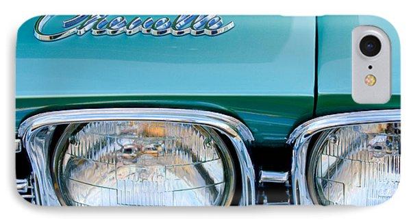 1968 Chevrolet Chevelle Headlight Phone Case by Jill Reger