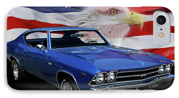 1969 Chevelle Tribute IPhone Case
