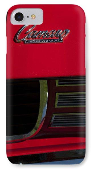 1969 Chevrolet Camaro Rally Sport Emblem Phone Case by Jill Reger